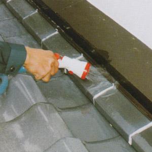 検査液を屋根部分から流し込む
