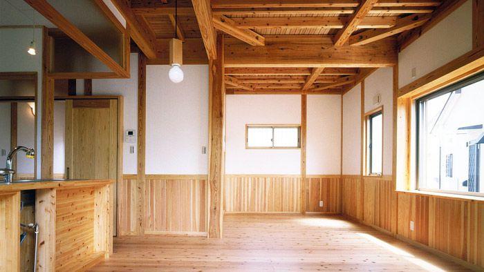国産無垢材の家