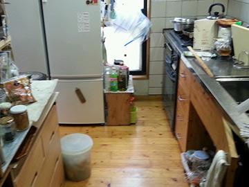 キッチン リフォーム前