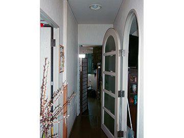 リフォーム前の廊下