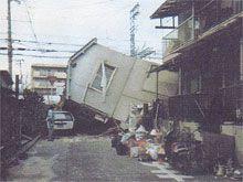 ほぞ抜けによる倒壊 神戸市