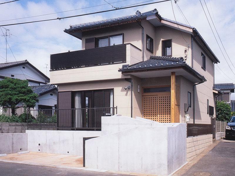 松戸市 無垢材住宅