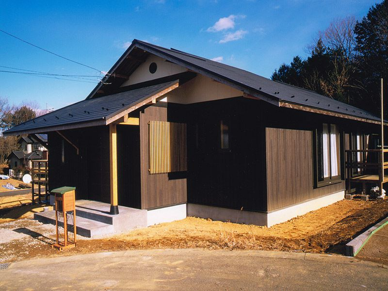 檜風呂のある家