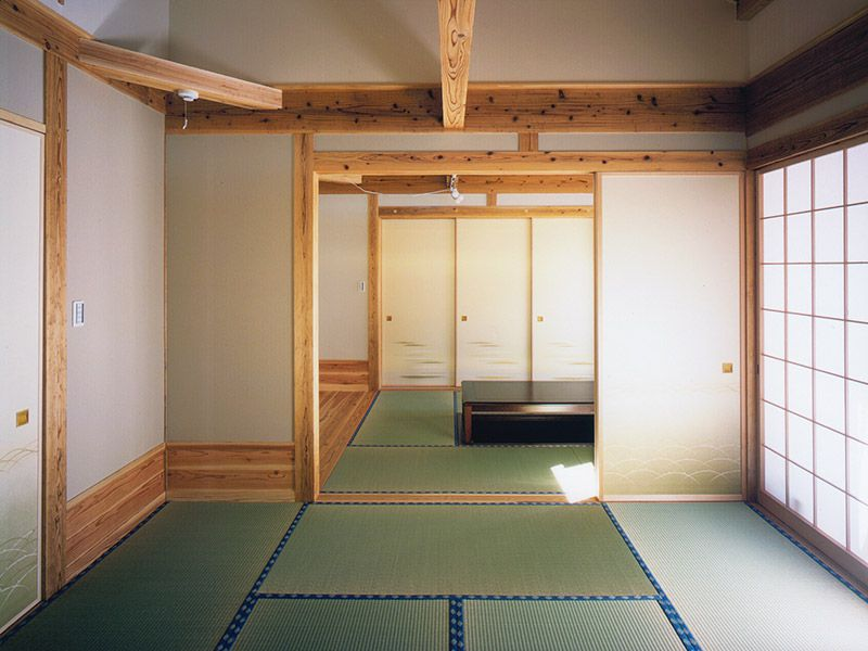 無垢材の和室
