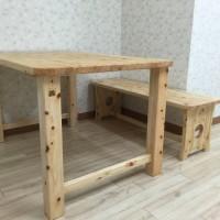国産ヒノキテーブル・ベンチ